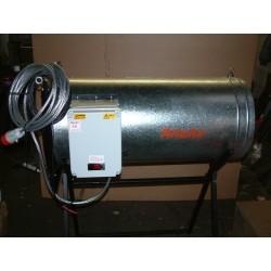 Electric fan heaters