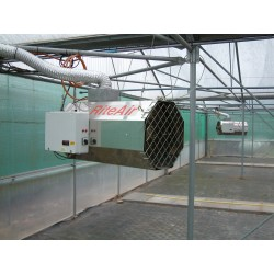 Direct Fired Tunnel Heater